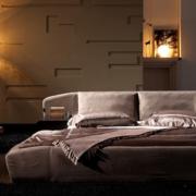 卧室榻榻米床背景墙