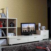 白色调电视柜设计图