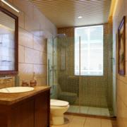 卫生间玻璃隔断效果图