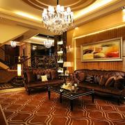 东南亚风情的客厅