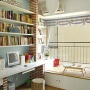 书房地台装修图片