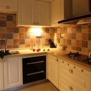 厨房瓷砖背景墙欣赏