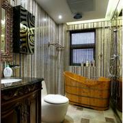 自然风格浴室装修图片