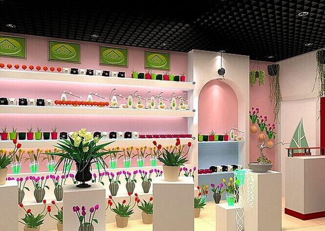 韩式 简约 风格花店 装修设计效果图 齐装网装修