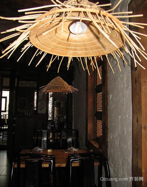 迷人餐厅灯饰装修设计效果图