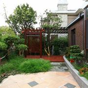 自然风格花园装修图片