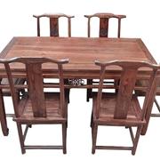 中式风格实木餐桌
