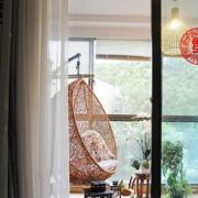 中式风格阳台装修大全