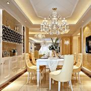 餐厅酒柜设计图片