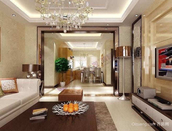 奢华的欧式客厅装修效果图