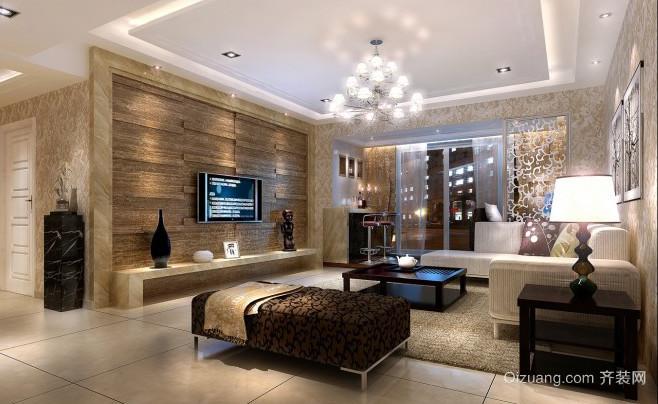 2015后现代客厅装修效果图欣赏