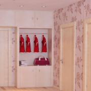 粉色调鞋柜设计欣赏