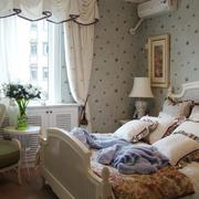 简欧尊贵的卧室展示