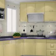 温馨开放式厨房设计