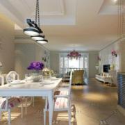 别墅浪漫餐厅图片