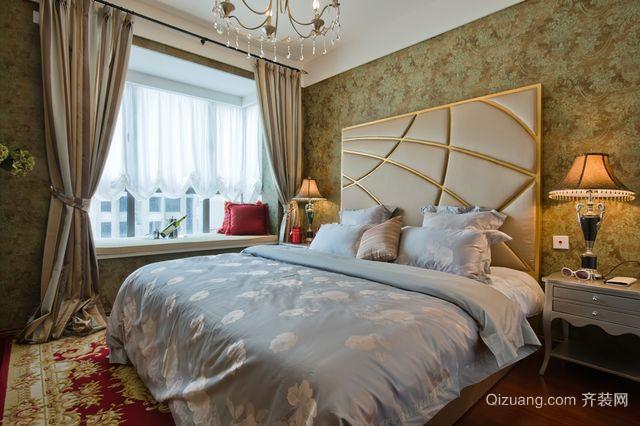 全新 法式风格酒店 客房卧室装修效果图