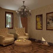 暖色调客厅装修大全