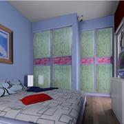 创意型卧室壁纸装修