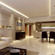 客厅简洁装潢设计