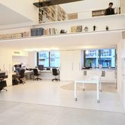 唯美型办公室设计图