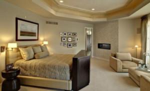 淡色调单身公寓卧室