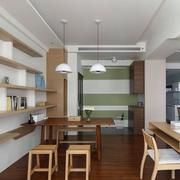 餐厅实木简约餐桌椅