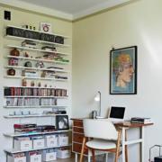 唯美型书房装修图片