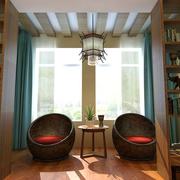 家庭小型露台装饰