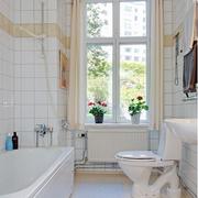 卫生间窗帘装修设计