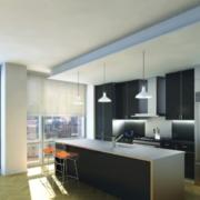 男士公寓厨房图片