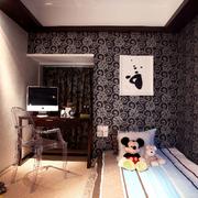 简约风格小卧室效果图