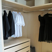 换衣间实木衣柜