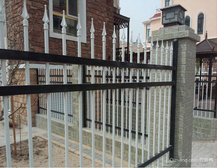 简欧围墙栏杆设计装修效果图