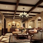 欧式风格客厅装修大全