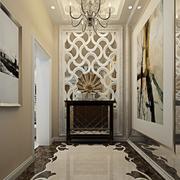 时尚风格客厅玄关设计