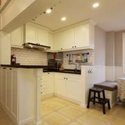 小户型单身公寓开放式厨房