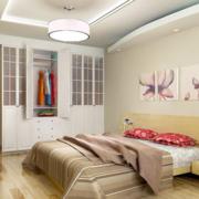 自然风格单身公寓卧室