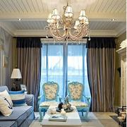 客厅窗帘装修设计