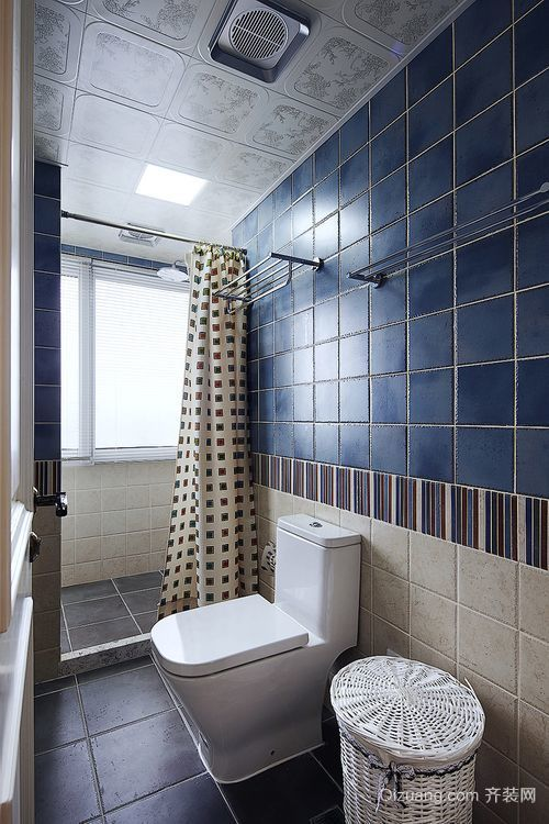 地中海风格欧式别墅卫生间装修效果图