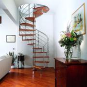 螺旋形复式楼楼梯
