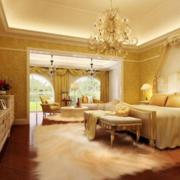 暖色调儒雅的卧室