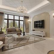 简约风格客厅飘窗设计