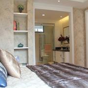 现代小户型卧室衣帽间