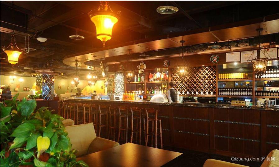 2015酒吧吧台装修效果图