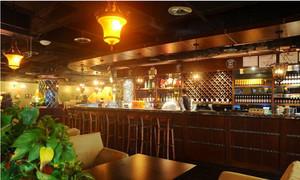 有情调的酒吧吧台