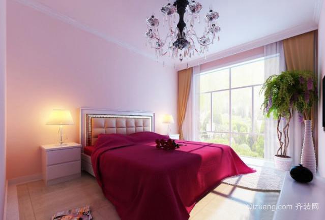 40平米现代简约风格婚房装修效果图