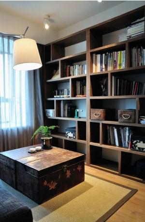 2015后现代小书房装修设计效果图