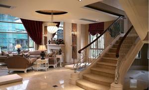 欧式别墅楼梯设计