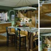 别墅厨房小吧台