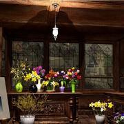 自然风格花店装修图片